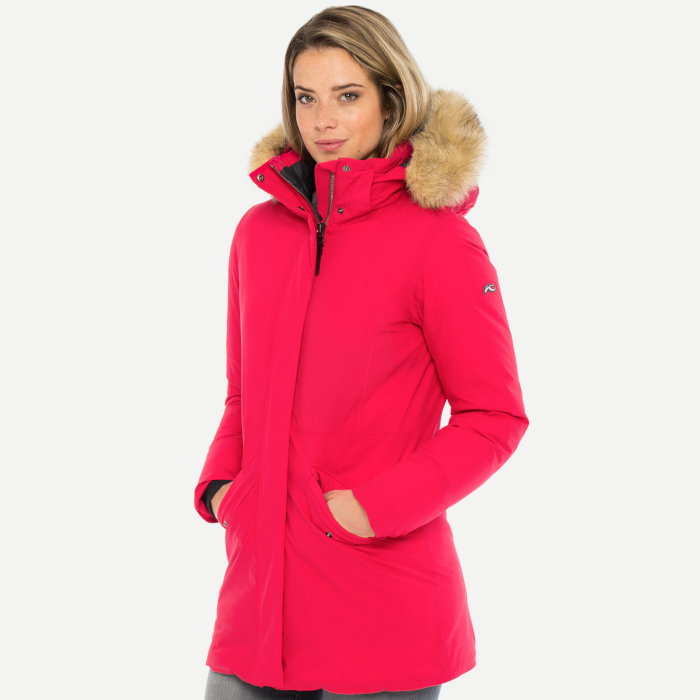WOMEN ENGIADINA PARKA WITH FUR