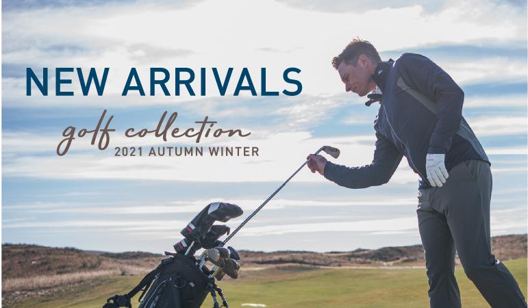 新作秋冬ゴルフウェア 第一段 入荷